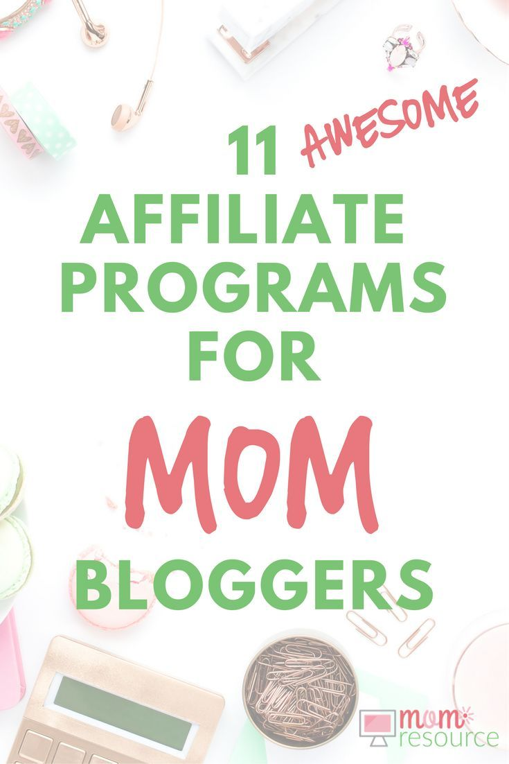 Need affiliate program inspiration? Tired of the same, boring affiliate programs? Getting nowhere with your current affiliate programs? Here are 11 affiliate programs chosen specifically for MOM BLOGGERS! via @momresource