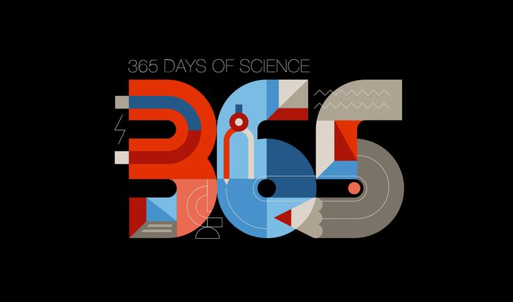 365 Days of Science on Behance
