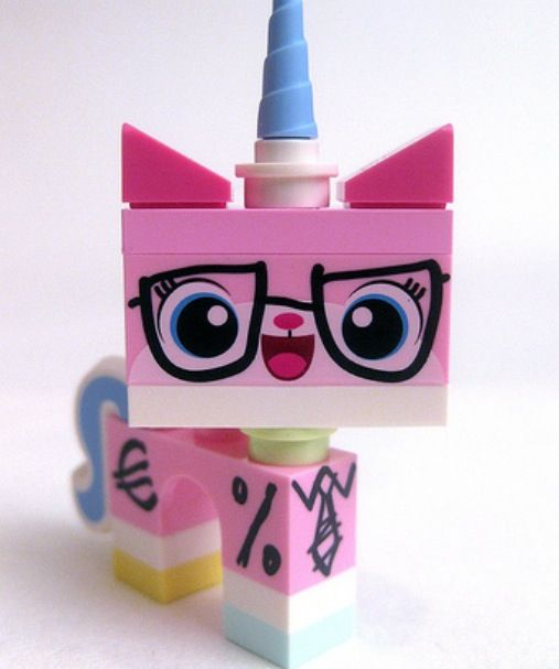 Uni-Kitty! Seriously the coolest character in the whole Lego movie hands down.