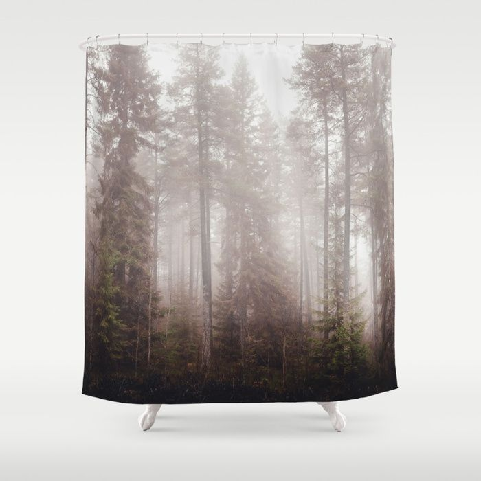 A fogilicious morning Shower Curtain by HappyMelvin   Society6