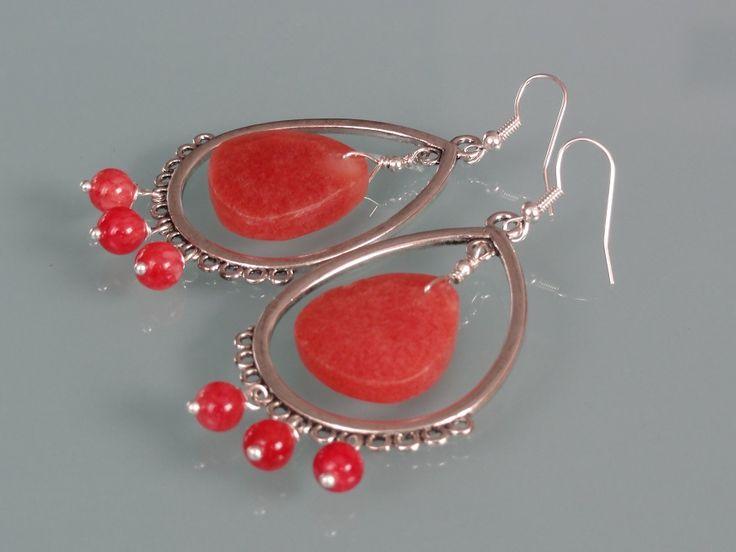 Biżuteria - plastry kalcytu
