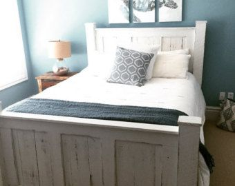 reclaimed wood bed frame that is made very sturdy and built to last for generations - Sturdy Bed Frames