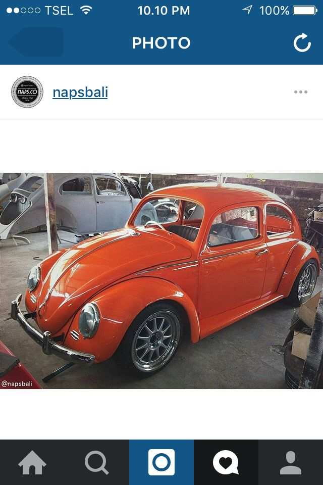 Our project 1961's vw bug