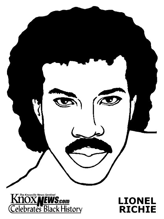 lionel richie coloring pages