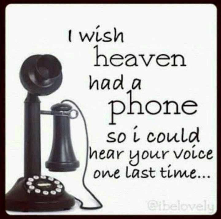 I Wish Heaven Had A Phone So I Could Hear Your Voice One Last Time.long  Distance Phone Call To My Pop.hi Daddy, I Miss You. Canu0027t Wait To Hear Your  Laughter ...