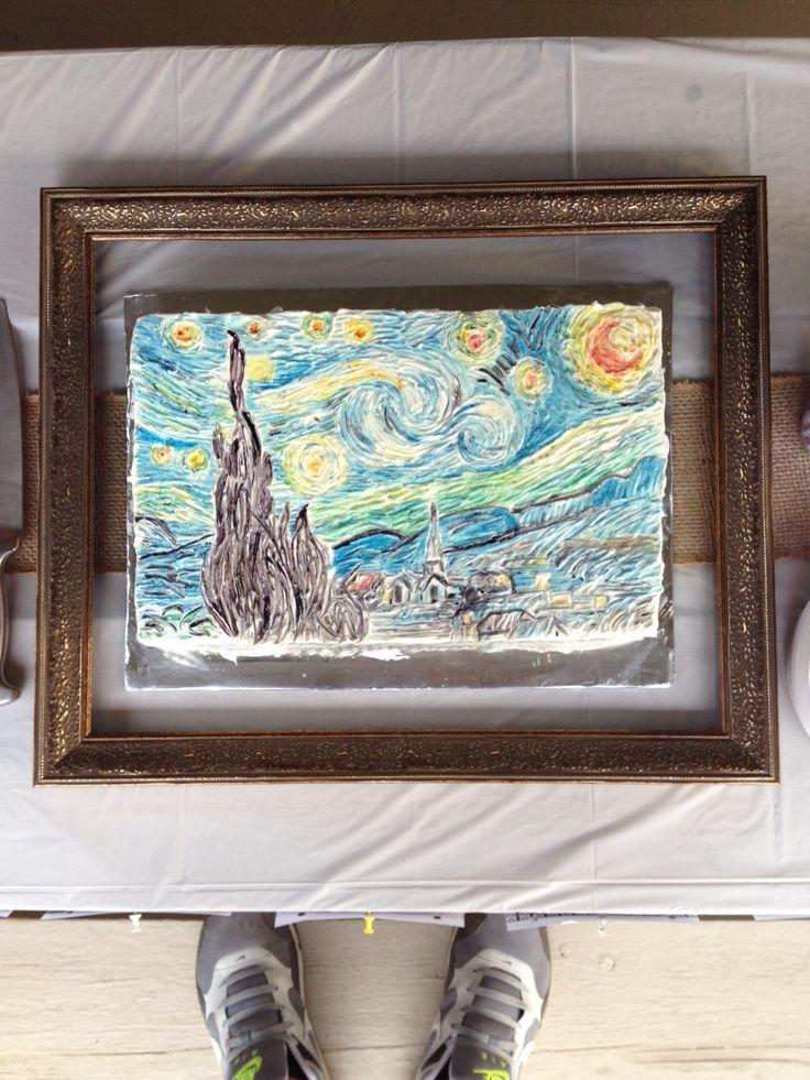 Van Gogh cake!