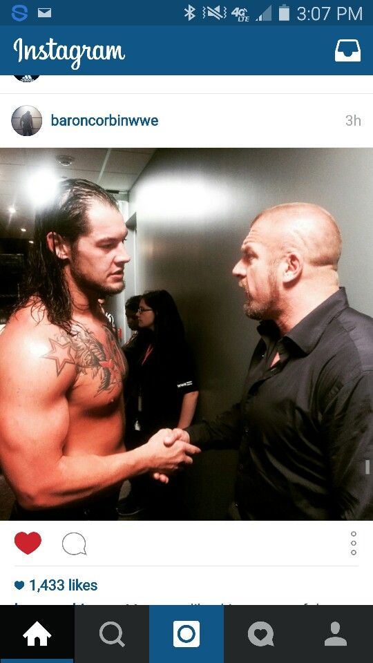 Baron and triple h two of my favorites