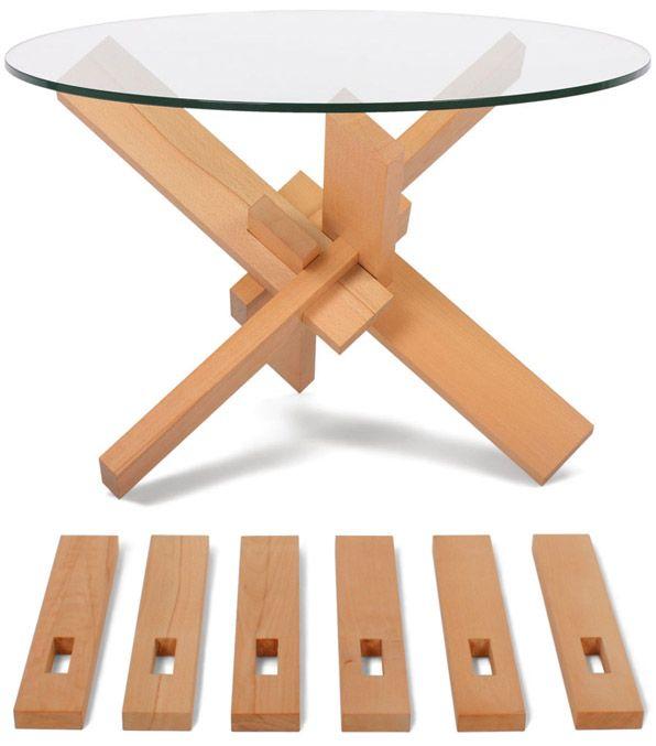Mesa lego para armar.                                                  MVC arquitecta