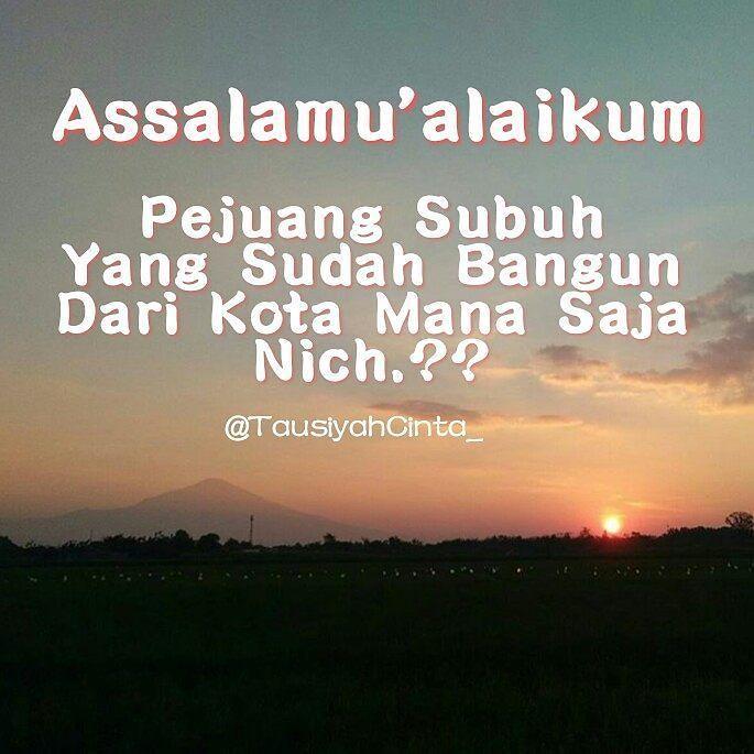 Assalamu'alaikum Jamaah Semoga Tetap Semangat Untuk Meraih Ridho Allah  http://ift.tt/2f12zSN