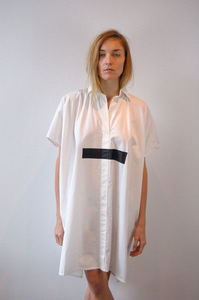 Jean paul knott dress white