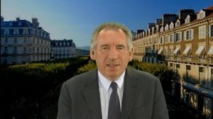 F.Bayrou était l'invité politique de Laurence Ferrari.