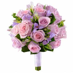 FlowWow! - Букет невесты из роз и фрезий - цветы от всех флористов твоего города