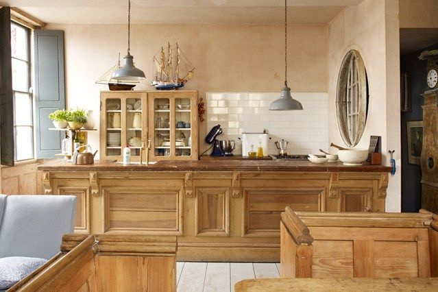 Whether it be the counters, cupboards or units - we've found the best kitchens made from wood on HOUSE - design, food and travel by House & Garden.