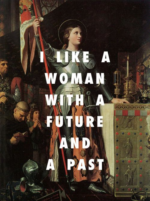 Joan of Arc at the Coronation of Charles VII (1854), Jean Auguste Dominique Ingres / Proud of You, Drake feat. Nicki Minaj