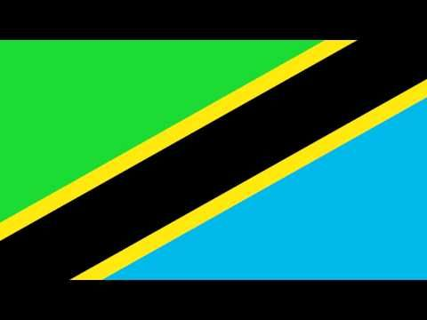 Bandera e Himno Nacional de Tanzania - Flag and National Anthem of Tanzania - YouTube
