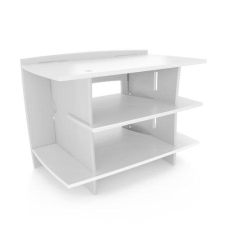 No Tools Assembly - Gaming Stand, White