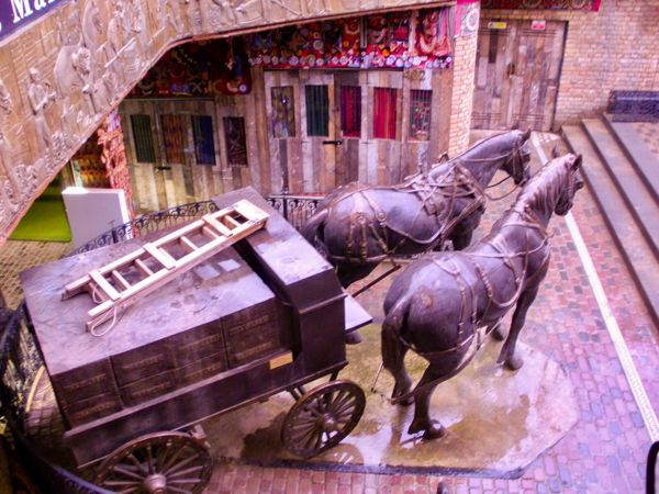 The Camden Stables Markets, located in Camden, London, is the largest of Camden's market spaces.  The London & Birmingham Railway was Londo...