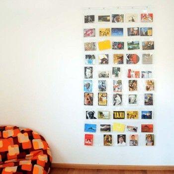 Il portafoto da parete con 50 tasche offre spazio per tutte le vostre foto preferite. I ricordi delle vacanze, le cartoline, la foto di chi amate e del cucciolo di casa. Un modo divertente di decorare una parete in maniera creativa.