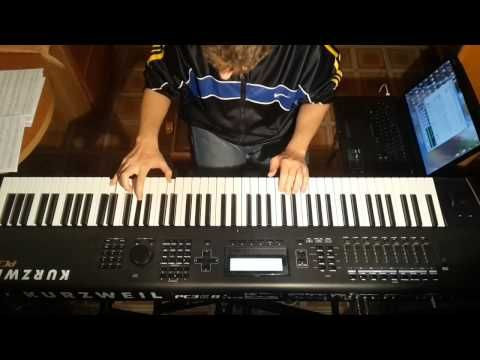 Learning To Live - Dream Theater (Keyboard cover) by enzolizziJR