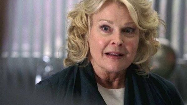 Candice Bergen as Tessa's nosey neighbor, Mae Nicholson.