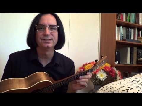 (39) How to Play a C major scale on a Ukulele - YouTube