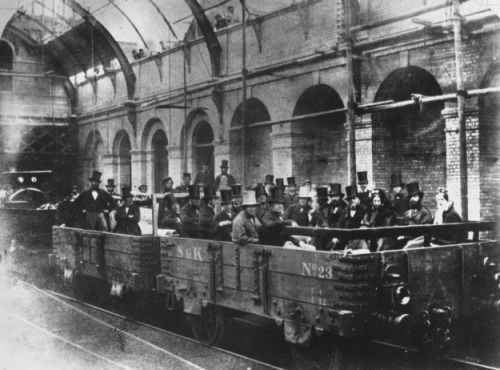 London underground circa 1863