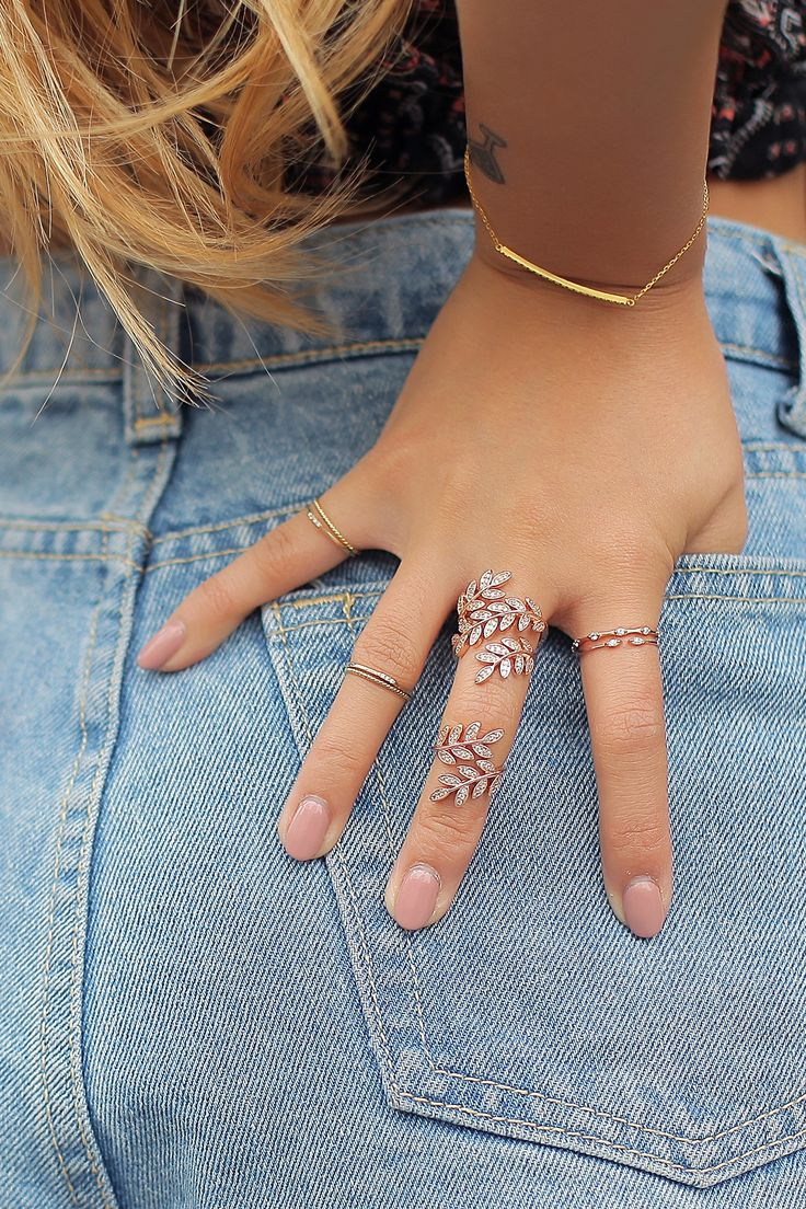 Layne Rose Gold Midi Rings / Looking to wrap your fingers up in something special?
