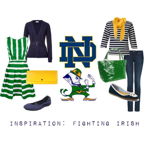 I want to make it clear that I am only pinning this because the clothes are adorable and fantastic. I still love USC and hate Notre Dame. Fight on!