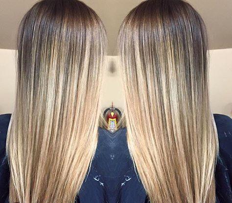 #OmbareHighlight Hair color by Amanda