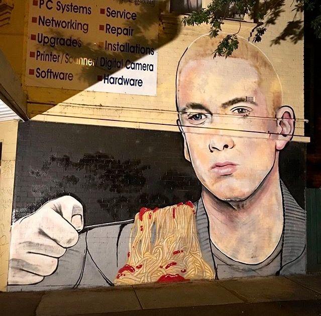 Eminem's Mom's spaghetti by Lush, 1/17 (LP)