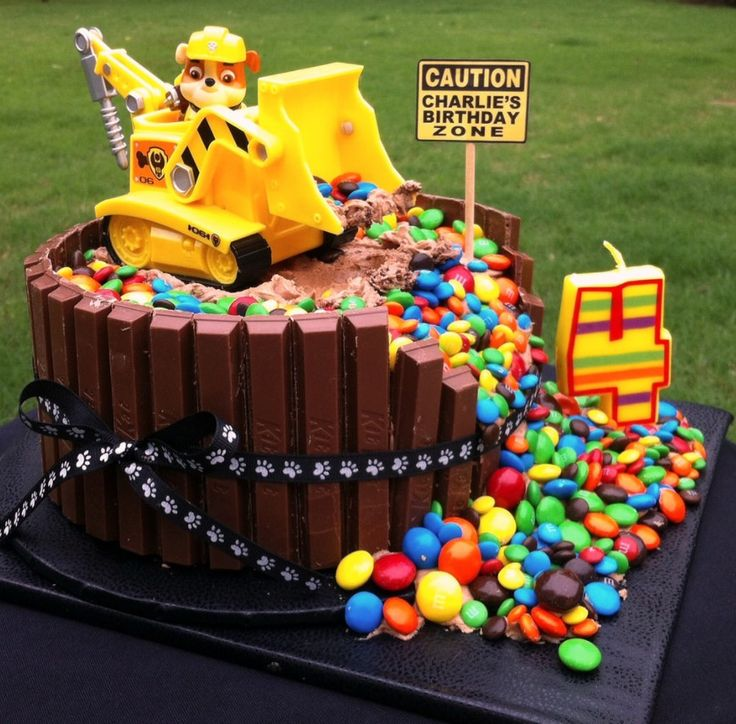 14 best birthday cakes images on Pinterest Birthdays Construction