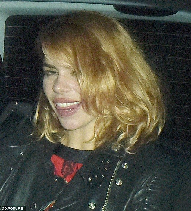 Why did she party so hard? Because she wants to!Billie Piper looked a little bleary-eyed ...
