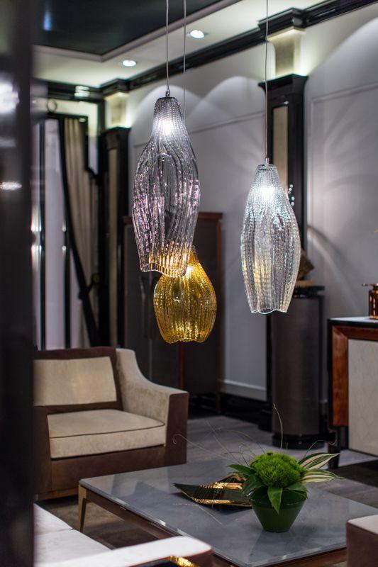 PRECIOSA Lighting & Giorgio Piotto at Salone del Mobile 2016. #light #residential #lighting #milandesignweek #design #jaroslavbejvl #crystal #luxury