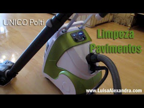 Luisa Alexandra: Limpeza Pavimento com Escova Multiusos • UNICO Polti • VÍDEO