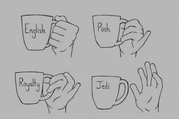 How a Jedi holds his cup: Laughing, Teas Time, Teas Cups, Do You, Stars War, Funny, Drinks, Teacups, Starwars