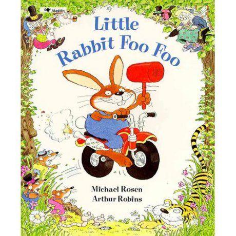 He´s wild, he´s wicked, he´s..Little Rabbit Foo Foo¡ Wriggly worms, tigers,goblins...