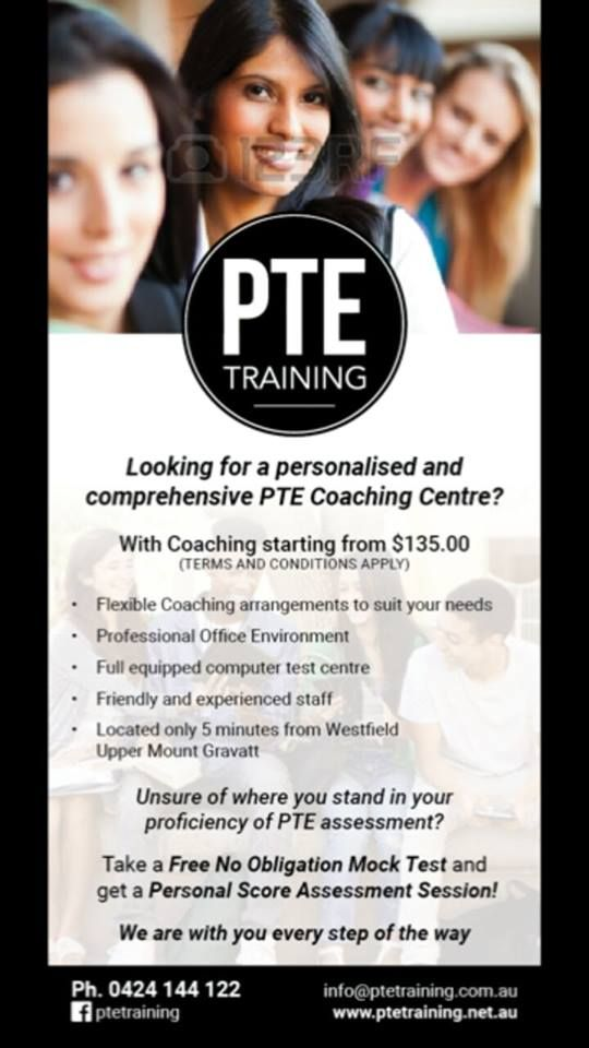 Looking for personalised and comprehensive PTE Coaching Centre? Call Now 0424 144 122