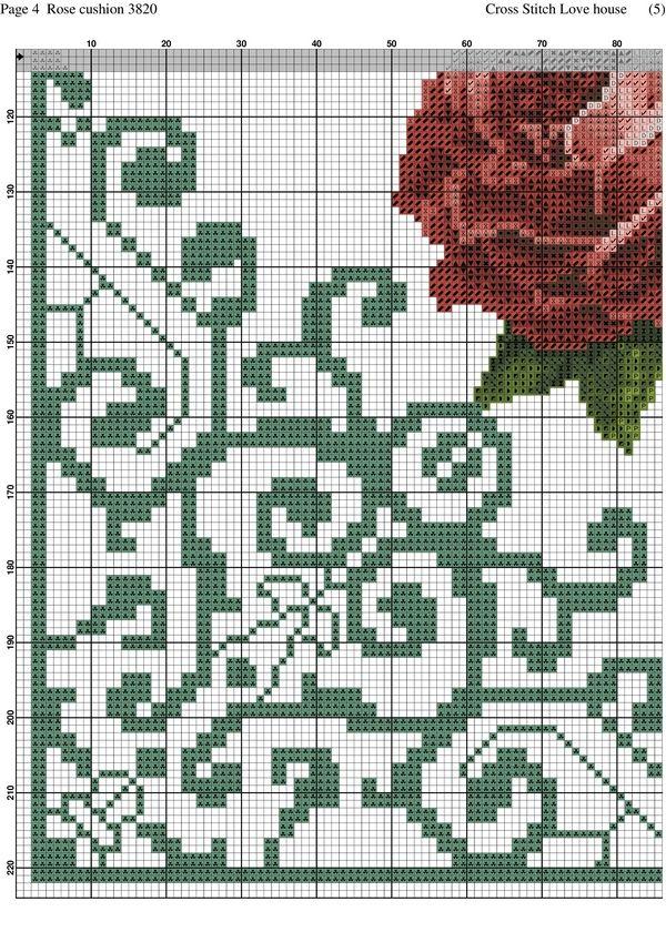 Rose cushion-004
