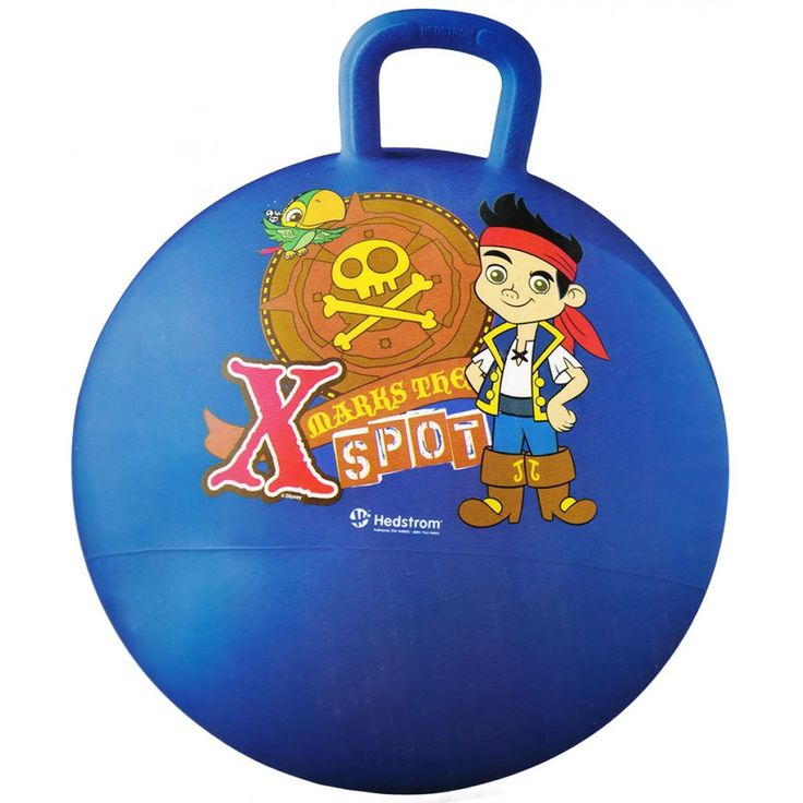 Jake and the Never Land Pirates Hopper Ball from Funstra Toys