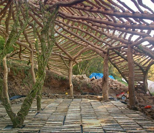 """The Building Of An Eco-friendly """"hobbit-home. Super Cheap"""