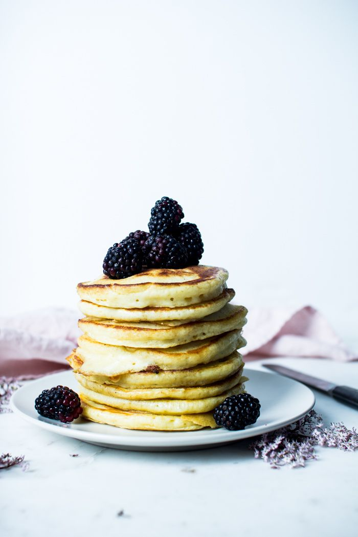 Lemon Ricotta Pancakes   The Flourishing Foodie   Bloglovin'