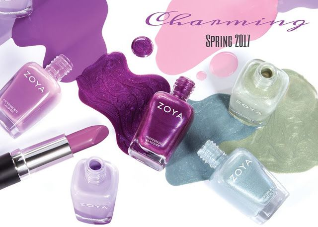 Mecapp: Zoya Colors - Charming Collection for Spring 2017