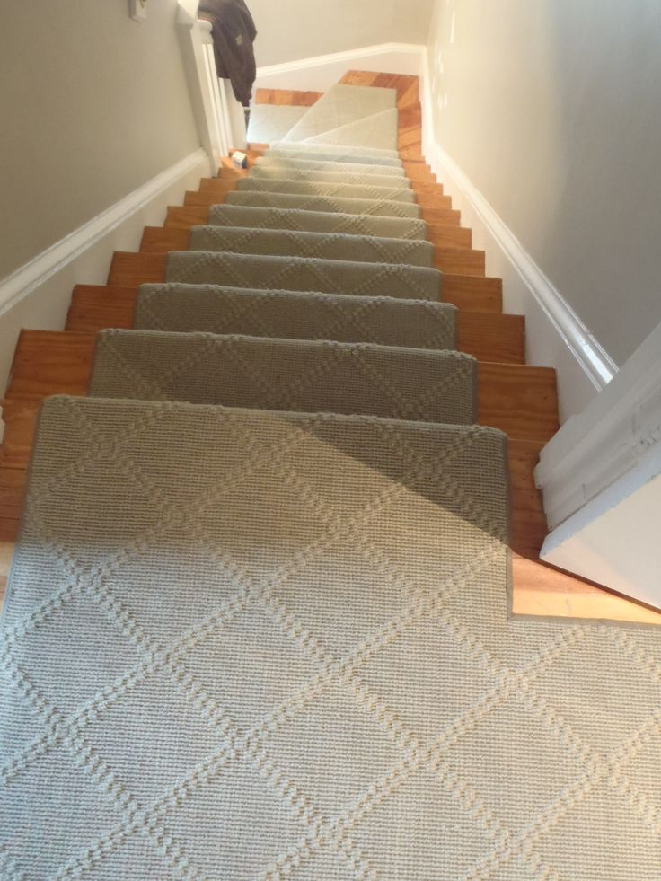 This Is A Custom Hall And Stair Installation By The Carpet