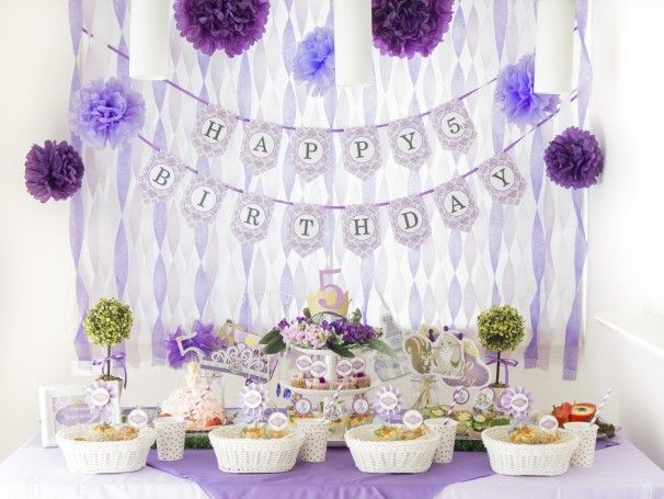 THE FIRST UPON A PRINCESS -GIRL'S BIRTHDAY PARTY- ARCH DAYS