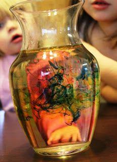 Vuurwerk in een pot expiriment | Fireworks in a Jar Experiment | #expiriment #kinderen