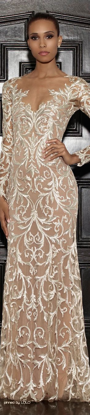Exquisite gown. Only for that one extremely special occasion. The embellishments on this gown are amazing. I truly love this gown !!!!!