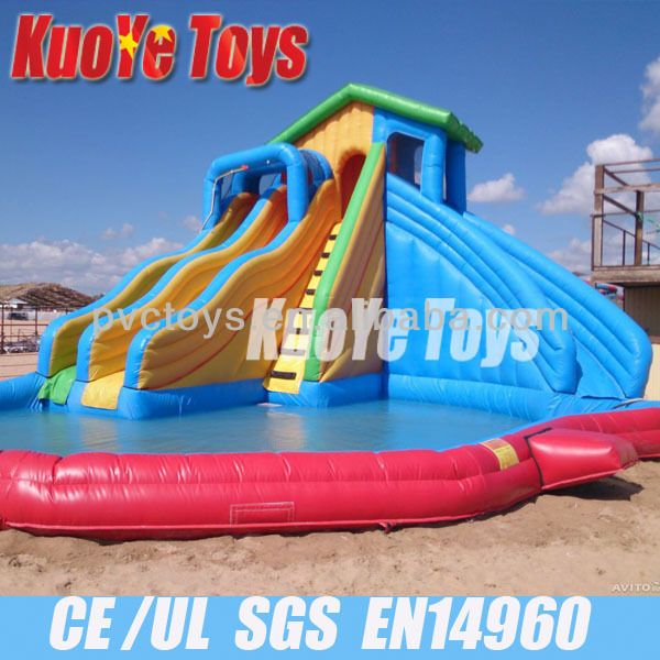 Inflatable Water Slide best 25+ inflatable water slides ideas on pinterest | blow up pool