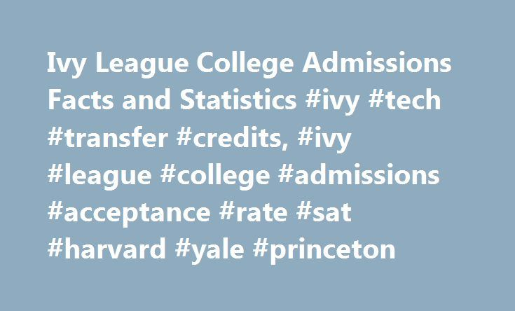 Ivy League College Admissions Facts and Statistics #ivy #tech #transfer #credits, #ivy #league #college #admissions #acceptance #rate #sat #harvard #yale #princeton http://germany.nef2.com/ivy-league-college-admissions-facts-and-statistics-ivy-tech-transfer-credits-ivy-league-college-admissions-acceptance-rate-sat-harvard-yale-princeton/  # Ivy League College Admission Summary Figures are for the Fall 2016 entering class, aka Class of 2020. Click the school links for far more information on…