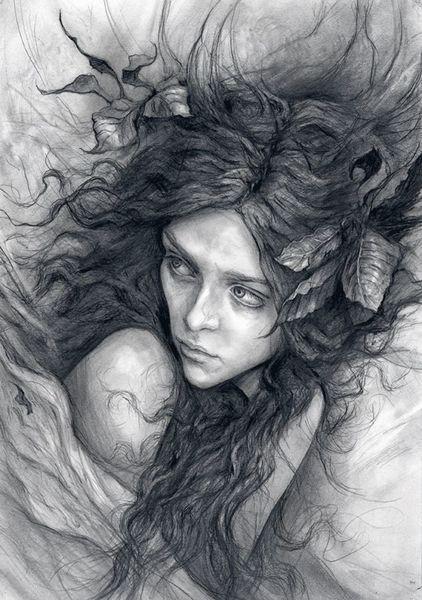 Watchful Dryad by Julia Jeffrey