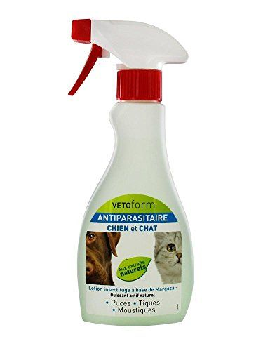 VETOFORM ANTIPARASITAIRE Lotion insectifuge Chien et Chat 250 ml *** You can get more details by clicking on the image.